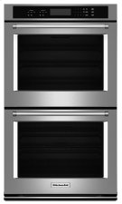 "27"" Double Wall Oven with Even-Heat Thermal Bake/Broil - Stainless Steel Product Image"