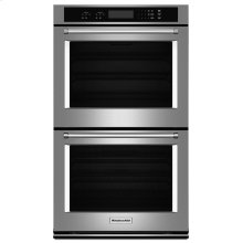 """27"""" Double Wall Oven with Even-Heat Thermal Bake/Broil - Stainless Steel"""
