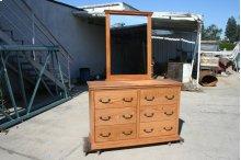 A-T311 Traditional Alder 6-Drawer Youth Bedroom Dresser