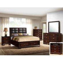 Crown Mark B6515 Jacob Storage Queen Bedroom