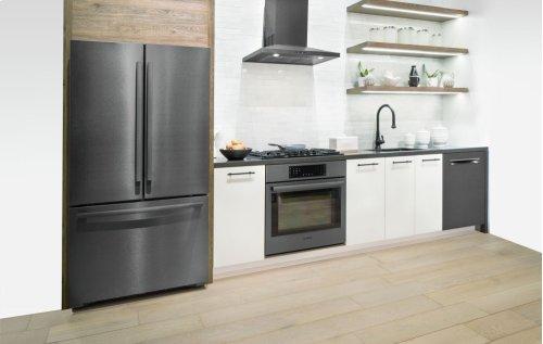 "24"" Pocket Handle Dishwasher, SHPM78W54N, Black Stainless Steel"