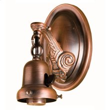 """4"""" WIDE 1 LT WALL SCONCE HARDWARE"""