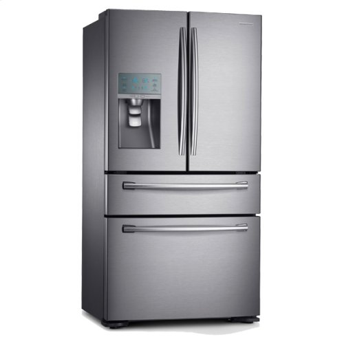 "36"" Wide, 30 cu. ft. 4-Door Refrigerator with FlexZone Drawer (Stainless Steel)"