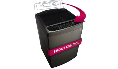 5.0 cu. ft. Ultra Large Capacity Front Control Top Load Washer with TurboWash® Product Image