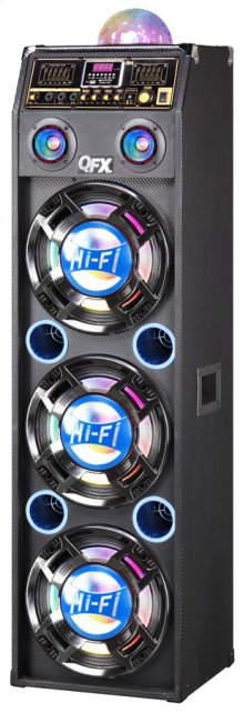 Speaker With Built-in Amplifier and Bluetooth
