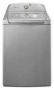 Lunar Silver Whirlpool® ENERGY STAR® Qualified Cabrio® 5.0 cu. ft. HE Top Load Washer