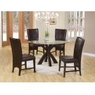 Shoemaker Deep Merlot Dining Table Base Product Image