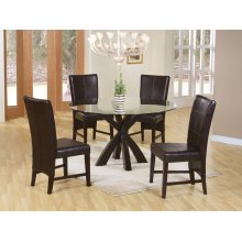 Shoemaker Deep Merlot Dining Table Base