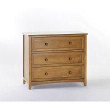 3 Drawer Chest (Pecan)