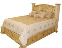 Full Mansion Storage Bed