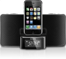 Clock radio for iPhone/ iPod