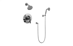 Topaz Pressure Balancing Tub & Shower Set (Rough & Trim)