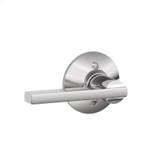 Latitude Lever Non-turning Lock - Bright Chrome