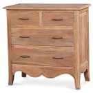 Carlyle 4 Drawer Bow Front Chest Product Image