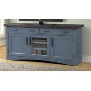 Americana Modern Denim 63 in. TV Console Product Image