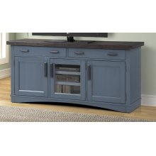 Americana Modern Denim 63 in. TV Console