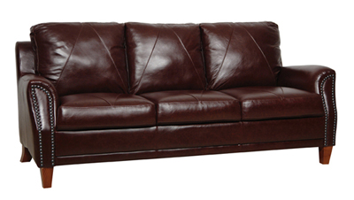 Austin Luke Leather Sofa