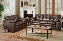 Sebring Coffeebean Loveseat