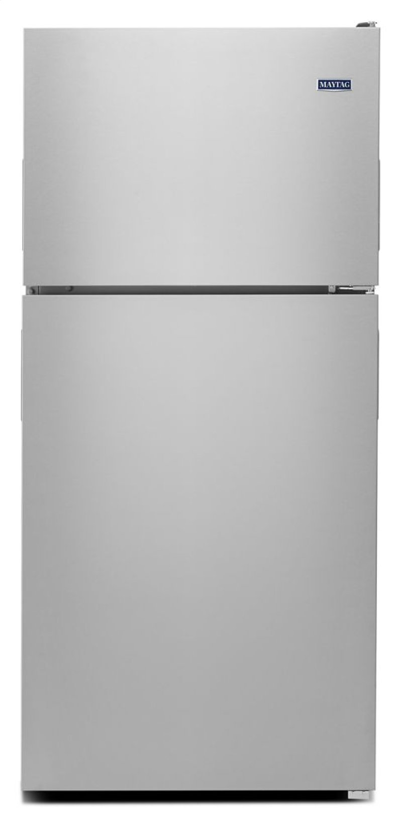 Mrt311fffm In Monochromatic Stainless Steel By Maytag Shelbina Washer Parts Diagram Group Picture Image Tag 33 Inch Wide Top Freezer Refrigerator With Powercold Feature 21 Cu Ft