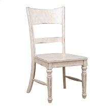 Vintage Estates Ladder Back Side Chair