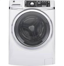 GE® ENERGY STAR® 4.9 DOE cu. ft. capacity Front Load washer with steam