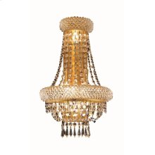 1803 Primo Collection Wall Sconce with Neck Gold Finish