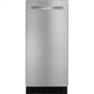 15-inch Under Counter Ice Machine, Euro-Style Stainless Product Image