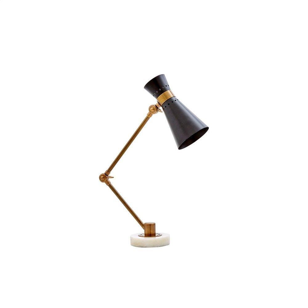 Clipper Table Lamp, Black