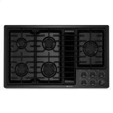 "Jenn-Air® 36"" JX3™ Gas Downdraft Cooktop - Black"