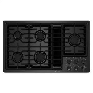 "Jenn-AirJenn-Air® 36"" JX3™ Gas Downdraft Cooktop - Black"