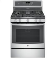 """GE Profile™ Series 30"""" Free-Standing Gas Convection Range Product Image"""
