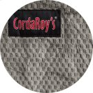 Cover for Pillow Pod or Footstool - Chenille - Charcoal Product Image