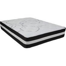 Capri Comfortable Sleep 12 Inch Foam and Pocket Spring Mattress, Full in a Box