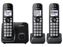 Expandable Cordless Phone with Call Block - 3 Handsets - KX-TGD513B