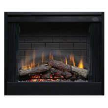 """39"""" Deluxe Built-in Electric Firebox"""