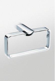 Brushed Nickel Soirèe® Towel Ring