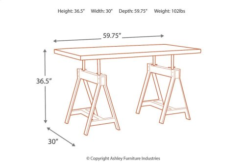 RECT DRM Adjustable Height TBL