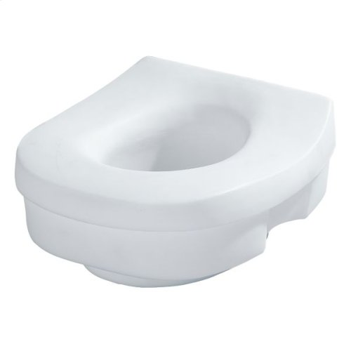 Moen Home Care glacier elevated toilet seat