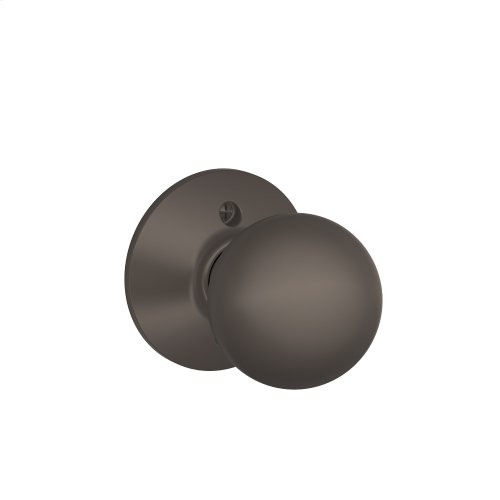 Orbit Knob Non-turning Lock - Oil Rubbed Bronze