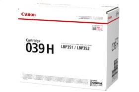 Canon Cartridge 039 High Capacity Black GENUINE Toner for imageCLASS Laser Printers