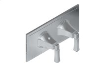 Finezza UNO M-Series Horizontal Valve Trim with Two Handles