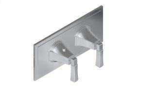 Finezza UNO M-Series Horizontal Valve Trim with Two Handles