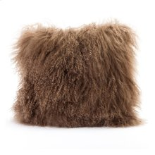 Lamb Fur Pillow Natural