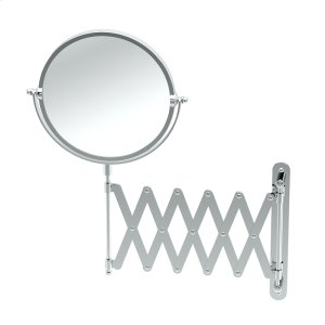 Accordion Mirror in Chrome Product Image
