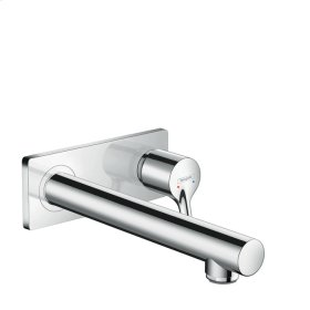 Chrome Talis S Wall-Mounted Single-Handle Faucet Trim, 1.2 GPM