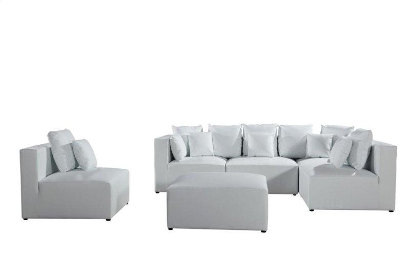 VGEV206WHT in by VIG Furniture in Orlando, FL - Divani Casa 206 ...