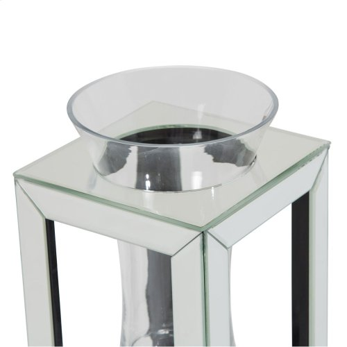 Mirrored Glass Large Vase