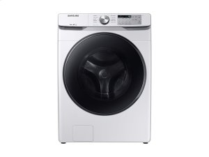 WF6100 4.5 cu. ft. Front Load Washer with Steam in White Product Image