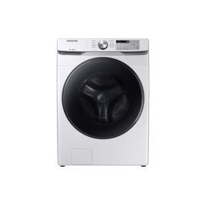 SamsungWF6100 4.5 cu. ft. Front Load Washer with Steam in White