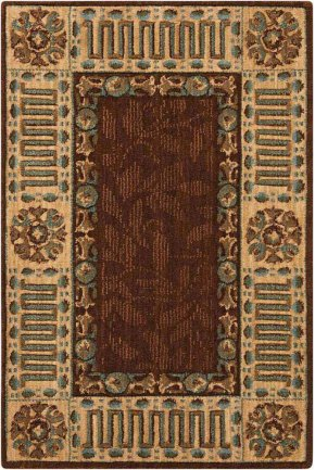 VALLENCIERRE VA27 BRN RECTANGLE RUG 2' x 3'